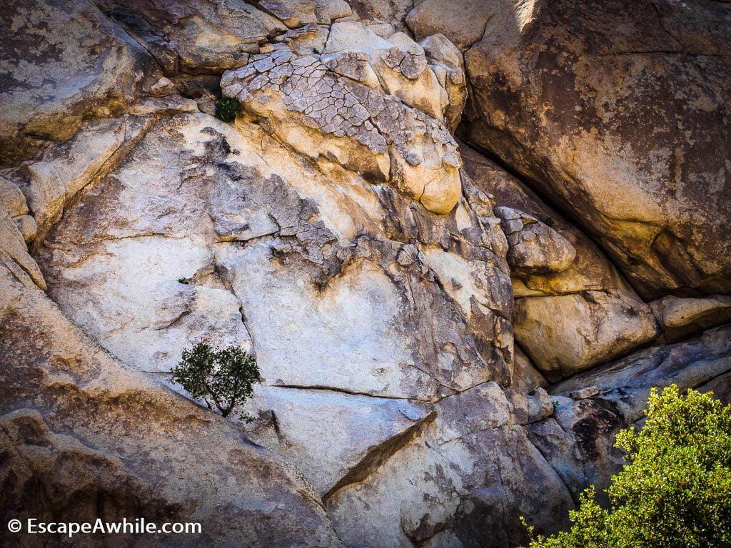 Boulders and cracks, Joshua Tree national park.