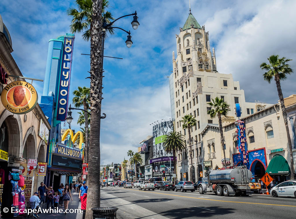 Hollywood Boulevard, Los Angeles, California, USA