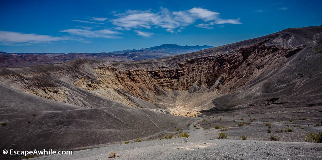 Ubehebe Crater, Death Valley NP.