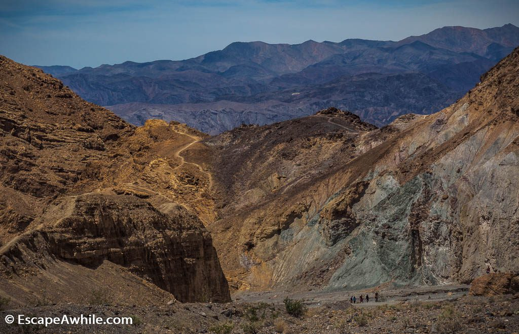 Mosaic Canyon, Death Valley NP.