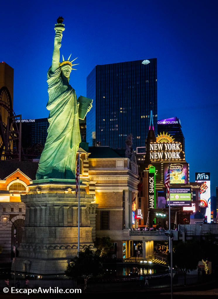 Statue of Liberty at New York New York Casino, Las Vegas
