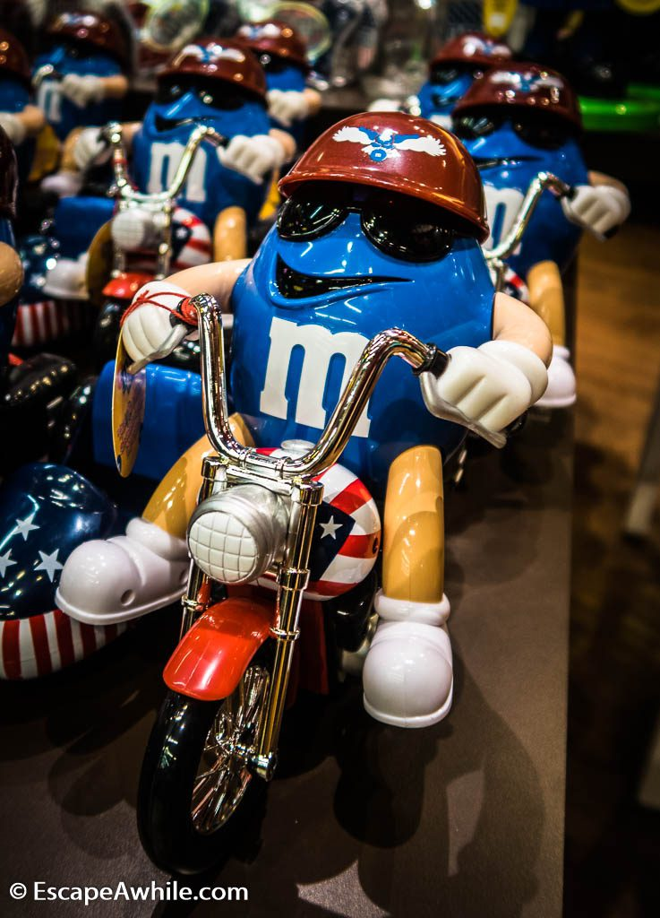 M&M World, Las Vegas