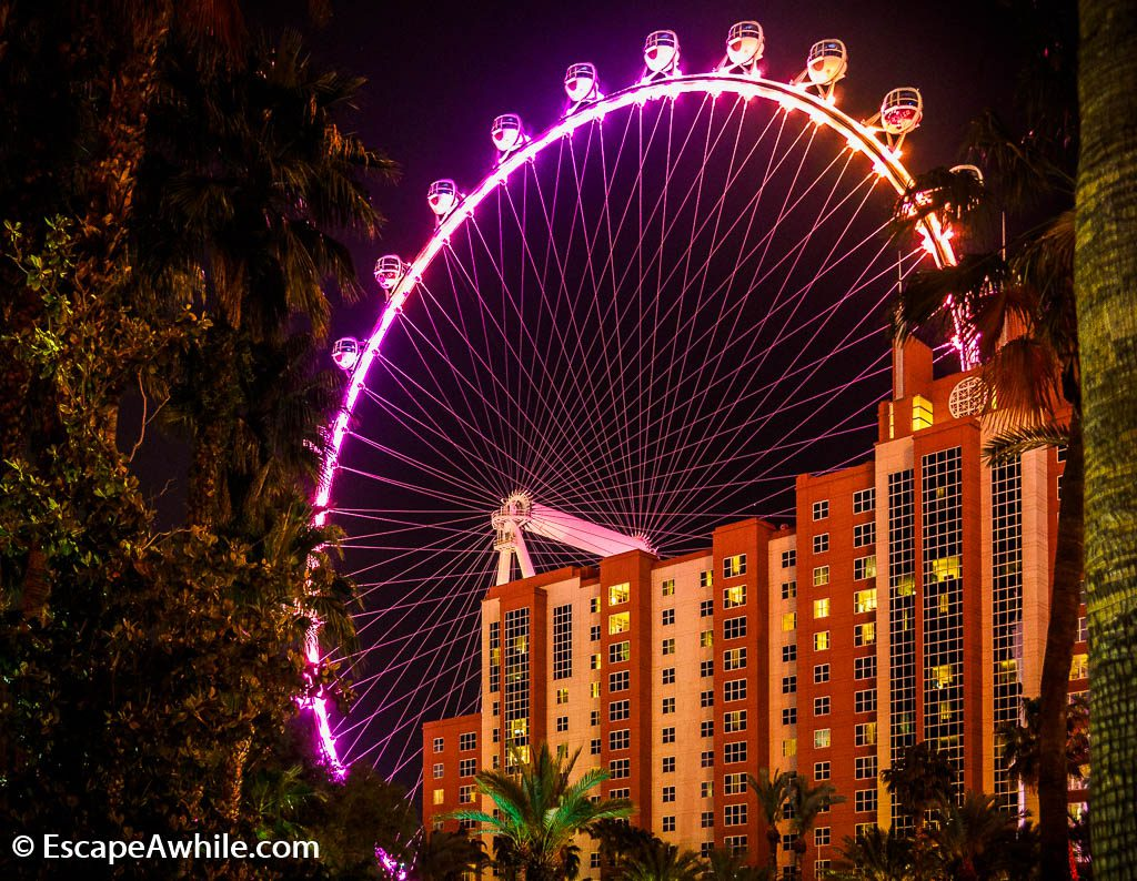 High Roller wheel, Las vegas