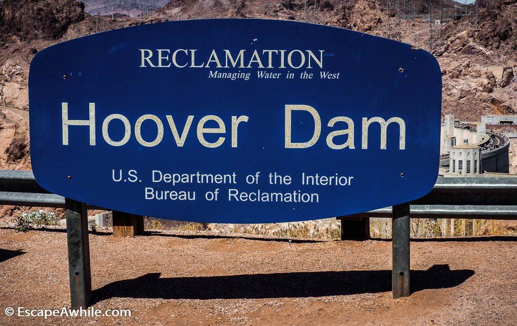 Hoover Dam on Colorado River