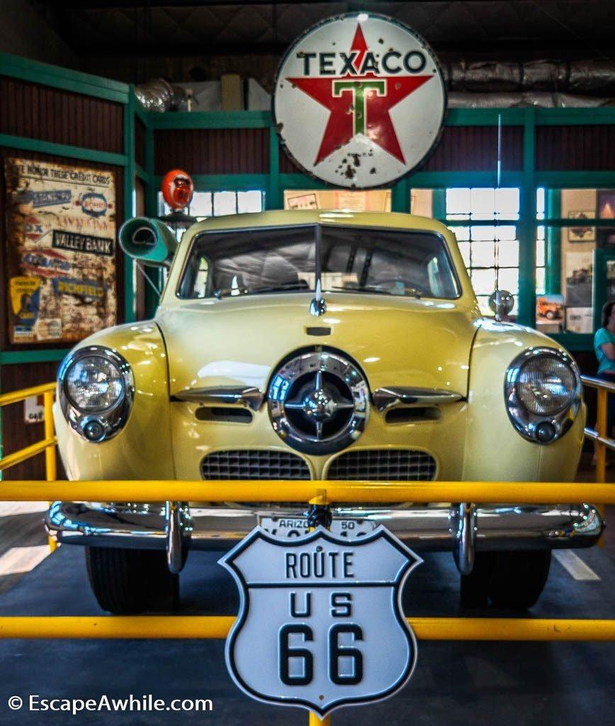 Powerhouse museum of Old Route 66 in Kingman, Arizona, USA