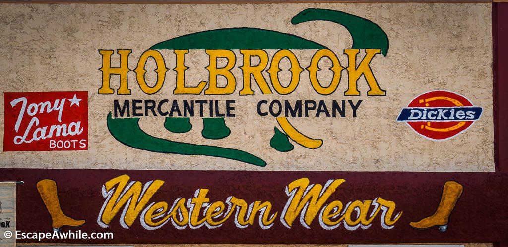 Holbrook, Route 66, Arizona, USA