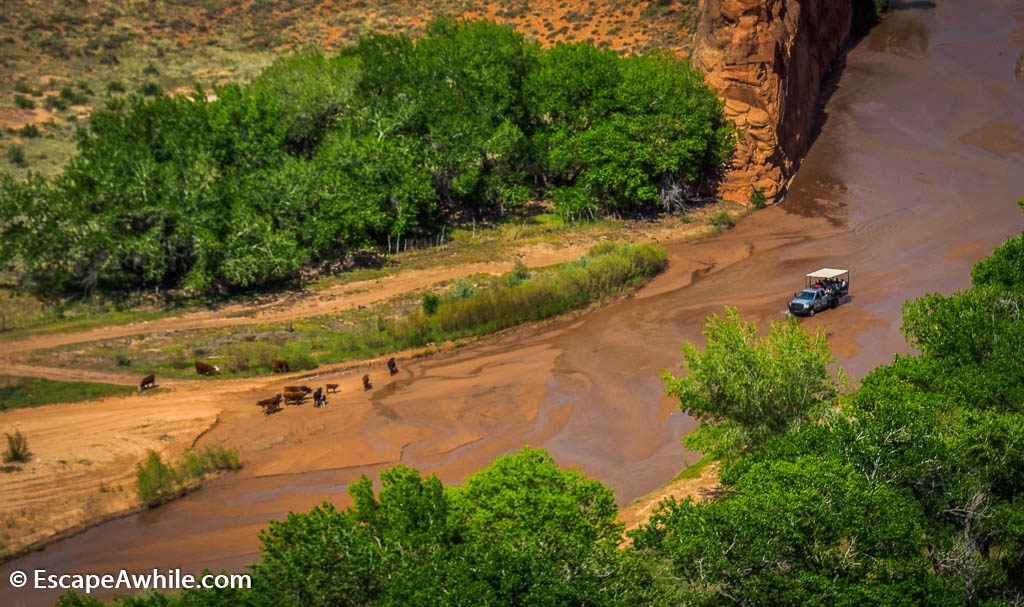 Tsegi Overlook, Canyon De Chelly  National Monument, Arizona, USA