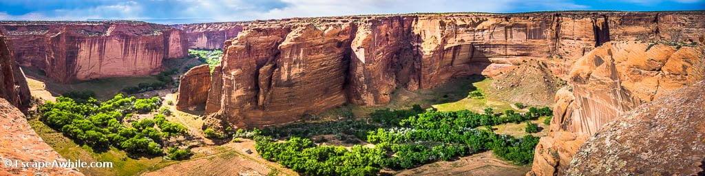 Sliding House Overlook, Canyon De Chelly  National Monument, Arizona, USA