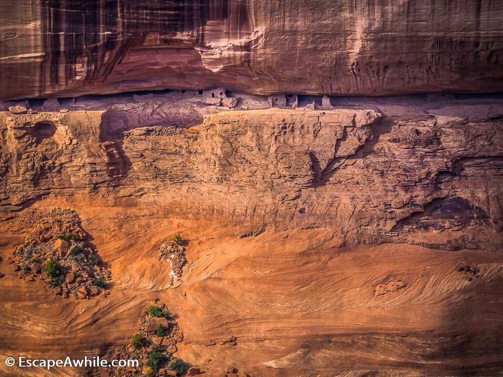 Spider Rock Overlook, Canyon De Chelly  National Monument, Arizona, USA