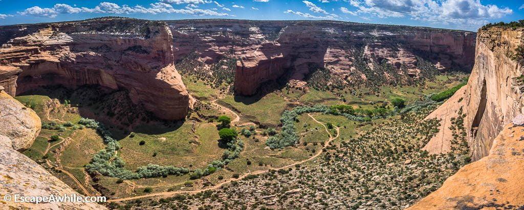 Mummy Cave Overlook, Canyon De Chelly National Monument, Arizona, USA