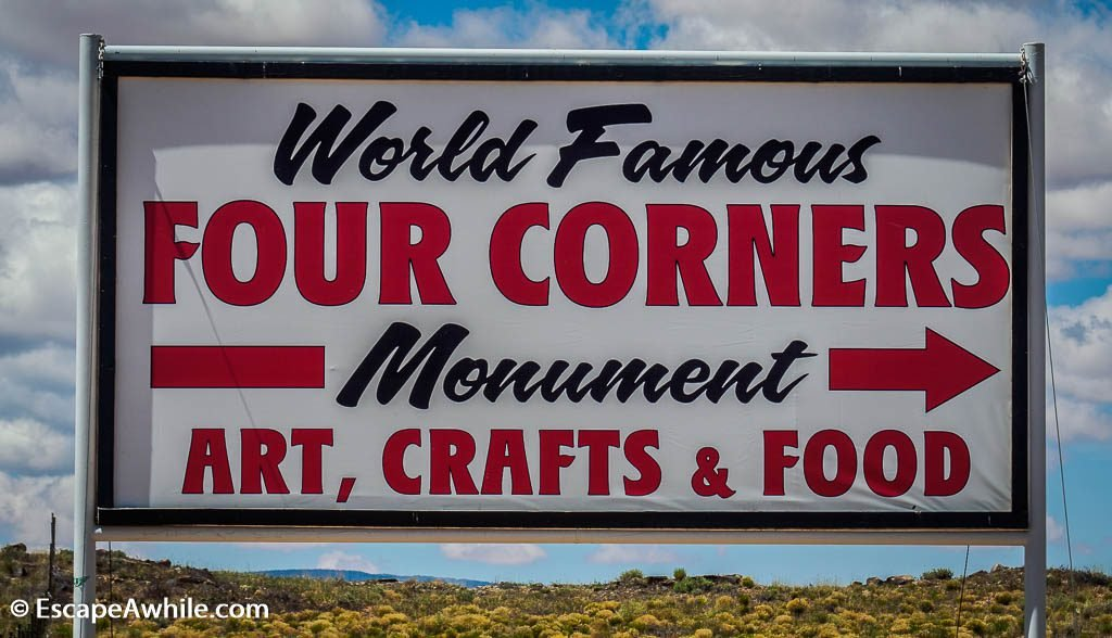 World famous 4 Corners sign
