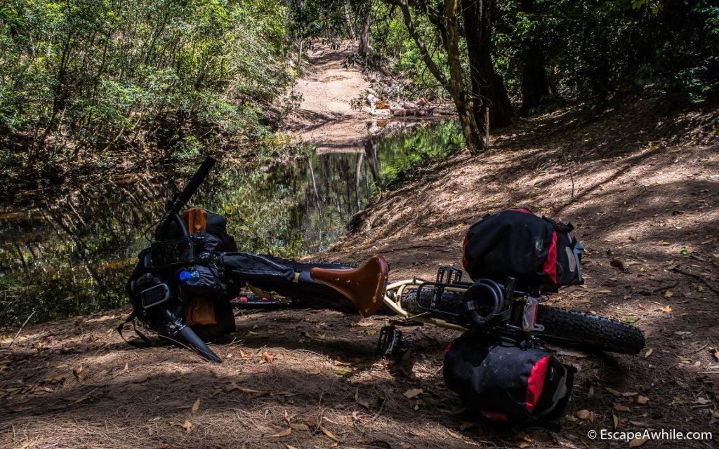 Challenge number two - Yarrunga Creek crossing