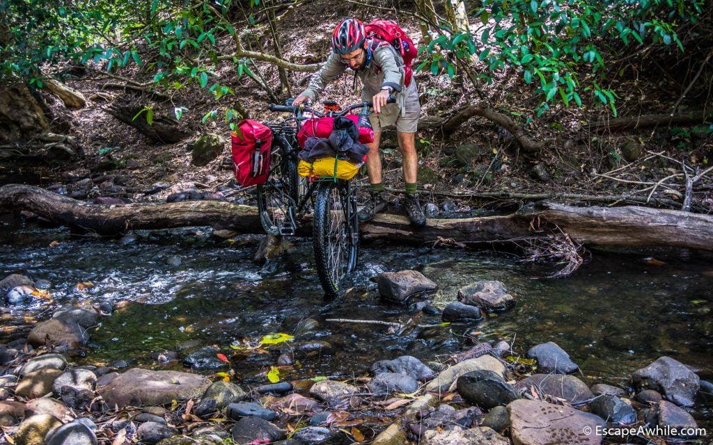 Yarrunga Creek crossing