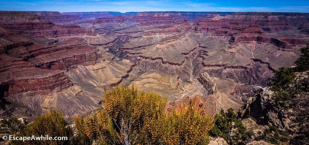 Views from Pima Point, Grand Canyon South Rim, Arizona, USA