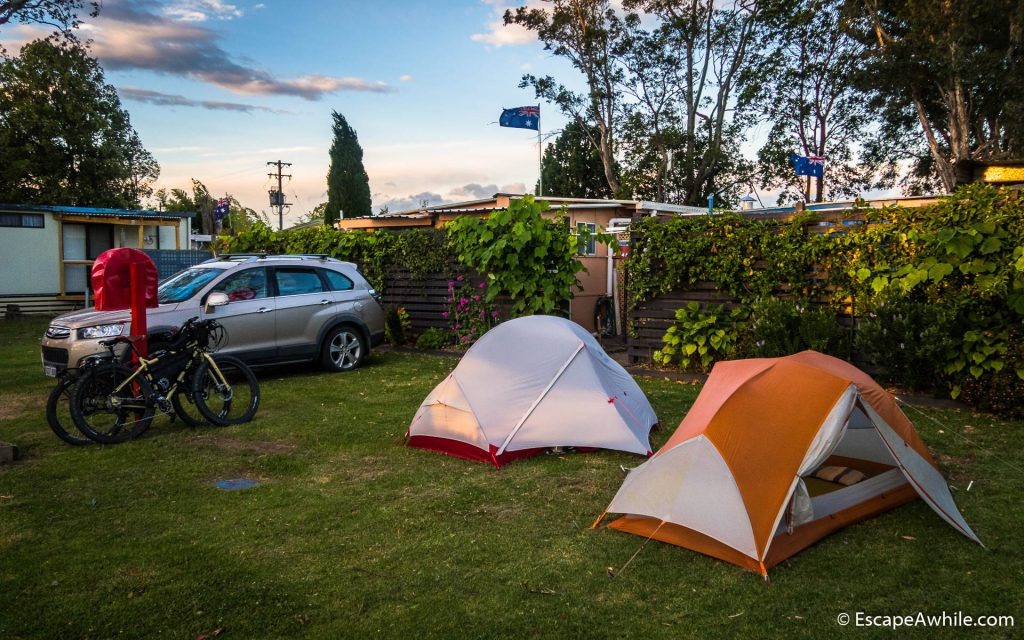 Shoalhaven Caravan Village, our home for the night