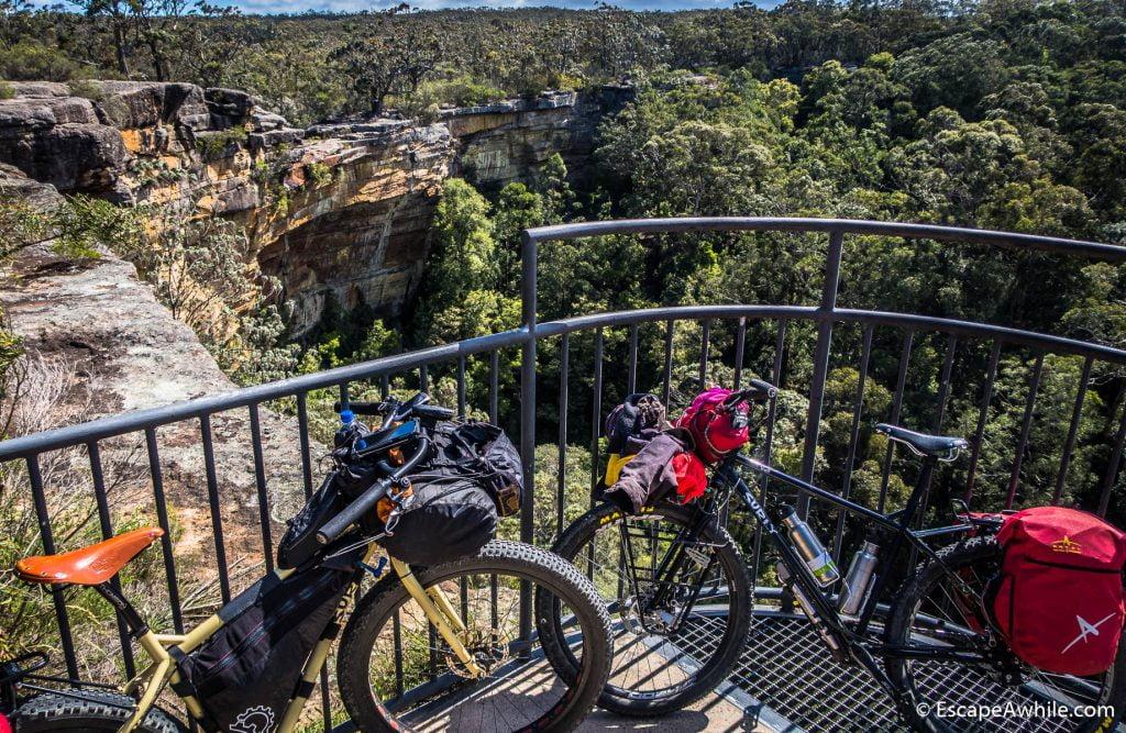 Lookout at Tianjara falls