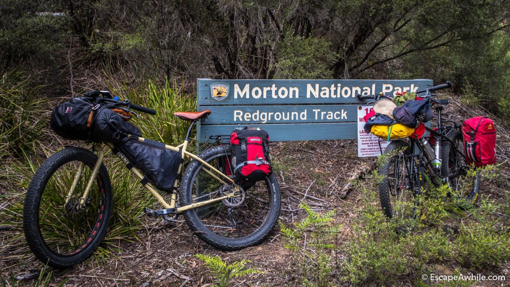 Leaving the Morton National park for a while