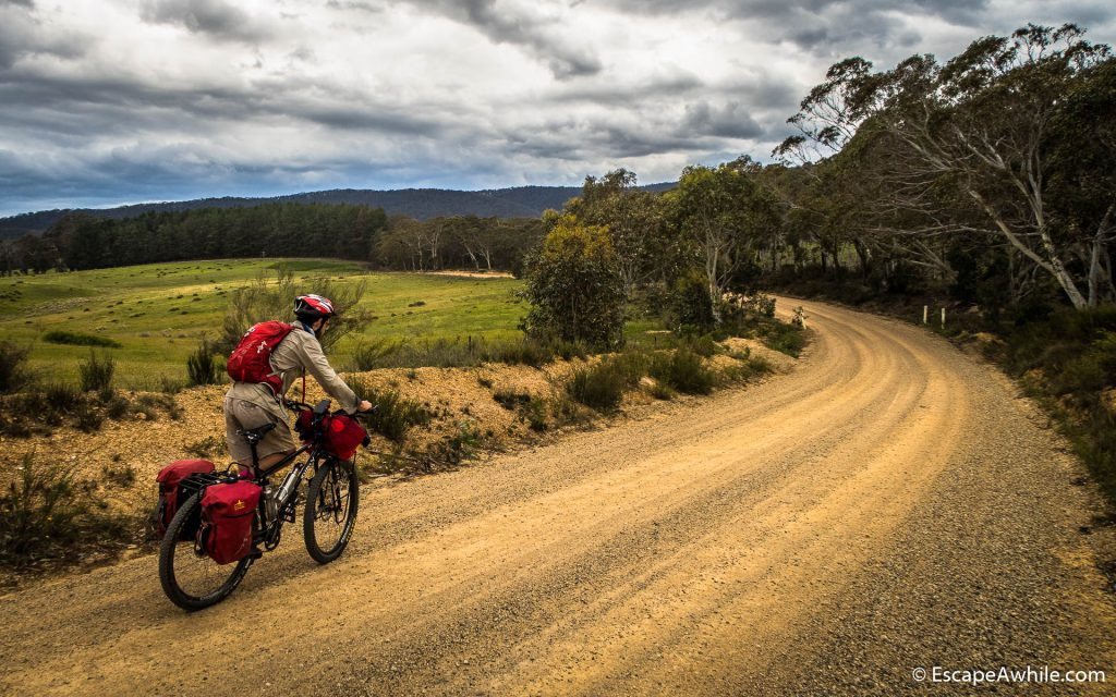 Back to dirt and peace on the Charleys Forest Road