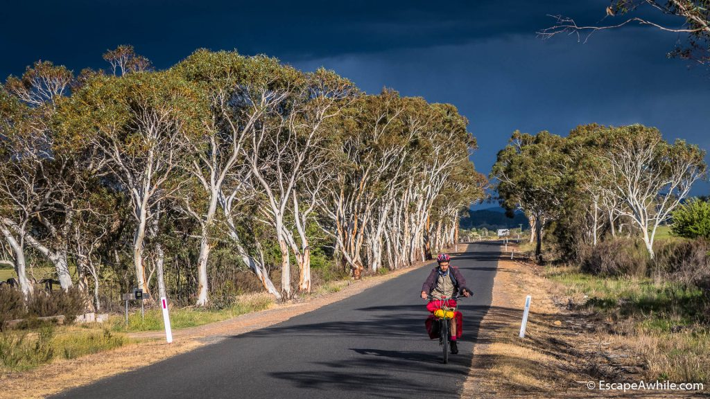 Evening ride out of Braidwood