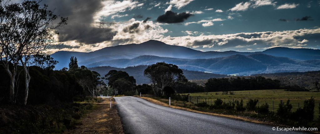 Clouds over the Tallaganda ranges