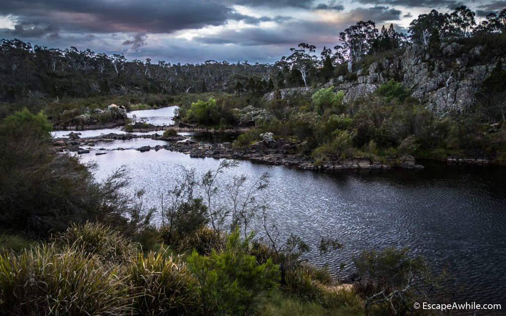 Shoalhaven River at the Bombay Reserve