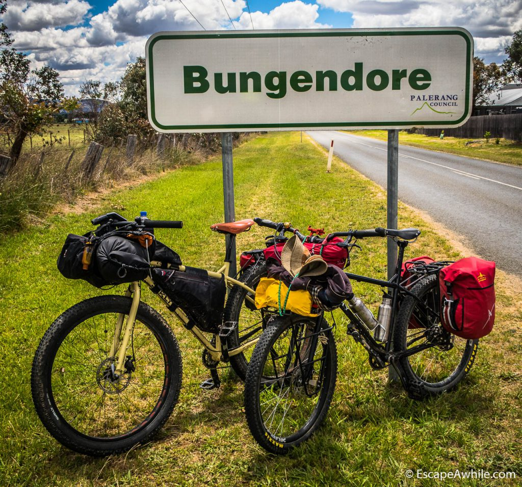 Bungendoore - the end of the ride!